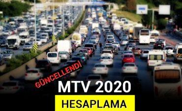 2020 Motorlu Taşıtlar Vergisi Hesaplama
